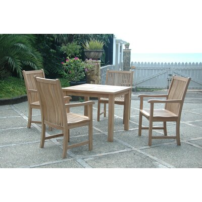 Bahama Chicago 5 Piece Dining Set (Set of 4)