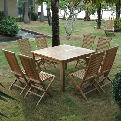 Classic 9 Piece Dining Set (Set of 8)