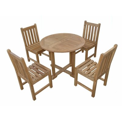 Montage Braxton 5 Piece Dining Set