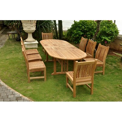 Sahara 9 Piece Dining Set
