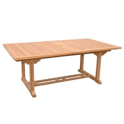 Valencia Rectangular Dining Table with Double Extensions
