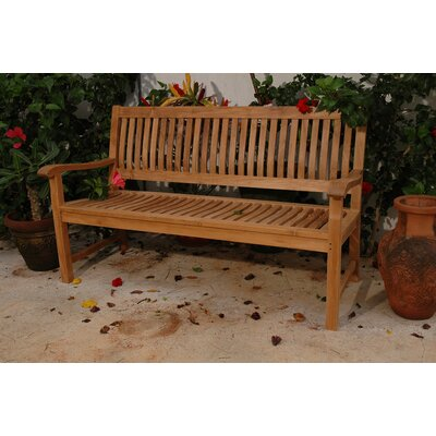 Anderson Teak Del-Amo Teak Garden Bench - Size: 71