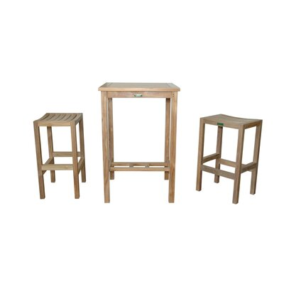 Avalon 3 Piece Bar Set