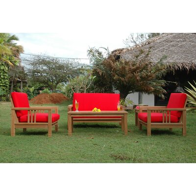 South Bay 5 Piece Deep Seating Group with Cushions