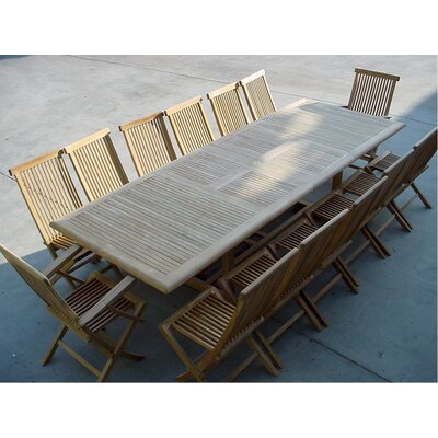 Outstanding Double Extension Table Set Armchair Chair Product Photo