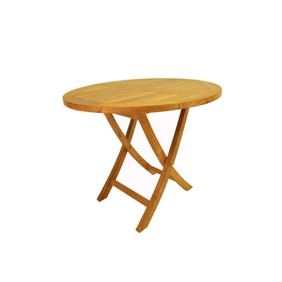 "Anderson Teak Bahama 35"" Round Bistro Folding Table at Sears.com"