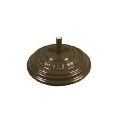 Fiberglass Free Standing Umbrella Base Weight: 175, Color: Champagne Bronze