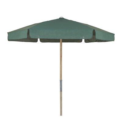 7.5 Push Up Canopy Hexagonal Market Umbrella Fabric: Forest Green