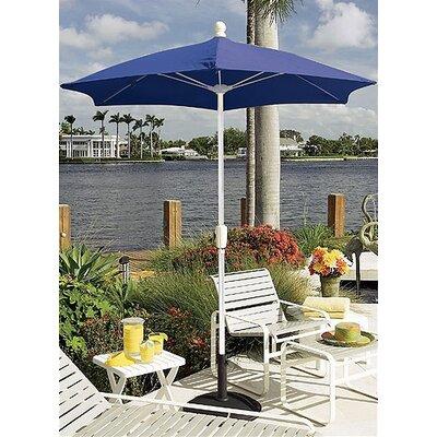 Fiberbuilt 9' Home Patio Tilt Umbrella (Set of 2) - Fabric: Forest Green, Frame Finish: White at Sears.com
