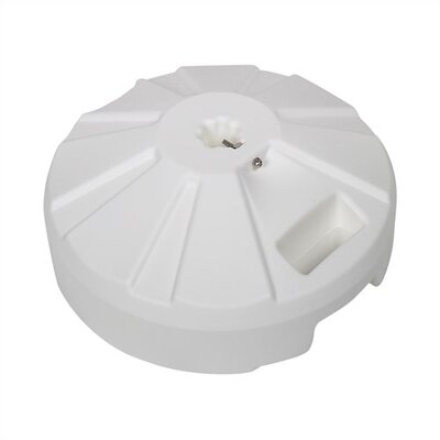 Leonard Plastic Free Standing Umbrella Base Finish: White