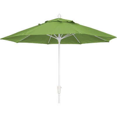 7.5 Prestige Canopy Octagonal Market Umbrella Frame Finish: Champagne Bronze, Fabric: Macaw
