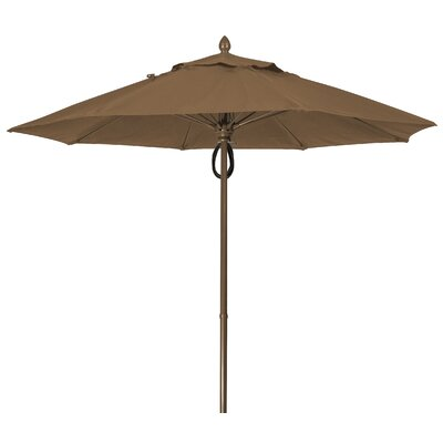 9 Prestige Canopy Octagonal Market Umbrella Frame Finish: White, Fabric: Cocoa