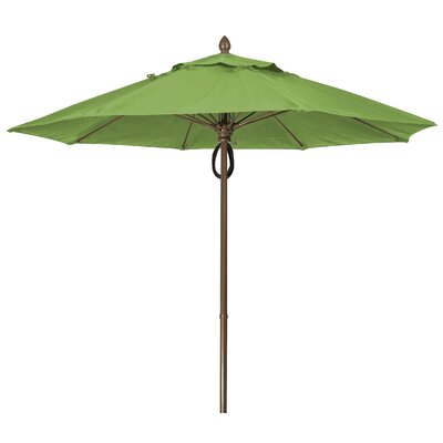 9 Prestige Canopy Octagonal Market Umbrella Frame Finish: Champagne Bronze, Fabric: Macaw