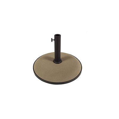 Leonard Concrete Free Standing Umbrella Base Finish: Champagne Bronze
