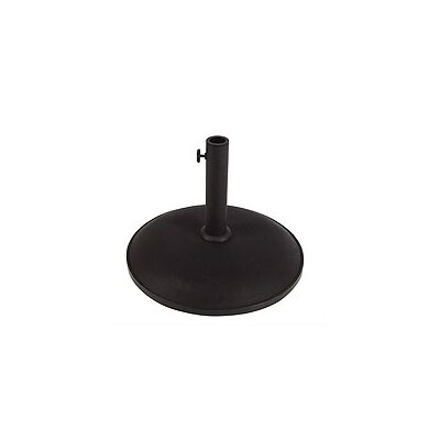 Leonard Concrete Free Standing Umbrella Base Finish: Black