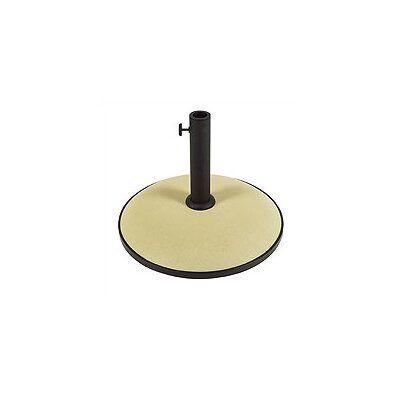 Leonard Concrete Free Standing Umbrella Base Finish: Beige