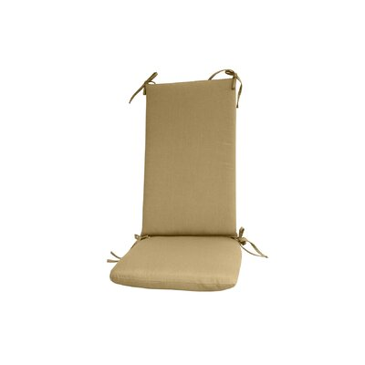 Outdoor Rocking Chair Cushion Color: Beige