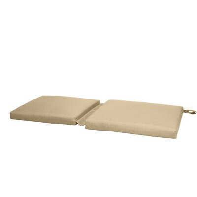 Hinge Outdoor Bench Cushion Color: Beige