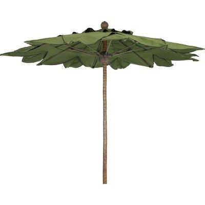 Fiberbuilt 8' Prestige Palm Umbrella - Fabric: Charcoal Grey at Sears.com