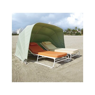 Prestige Cabana 2 Person Tent Fabric: Charcoal Grey