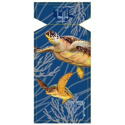 Guy Harvey Sea Turtle Beach Towel