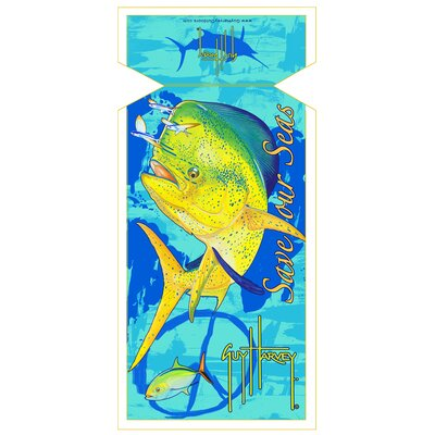 Guy Harvey Dorado Beach Towel