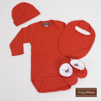 Unisex Baby Clothes Gift Set in Red Size: 3-6 Months
