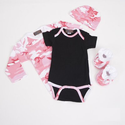 Baby Milano Baby Clothes Gift Set in Pink Camouflage - Size: 6-12 Months at Sears.com