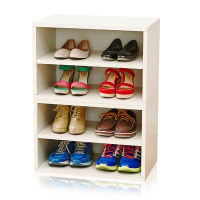 "Florence Storage 30"" Standard Bookcase"