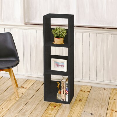 Andrade Trio Eco 3-Shelf Narrow Cube Unit Bookcase