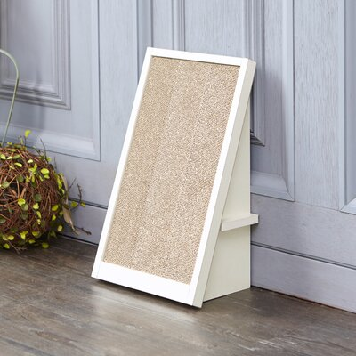 Ivy Incline Scratching Board Color: Aspen White