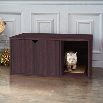 Litter Box Enclosure Color: Espresso