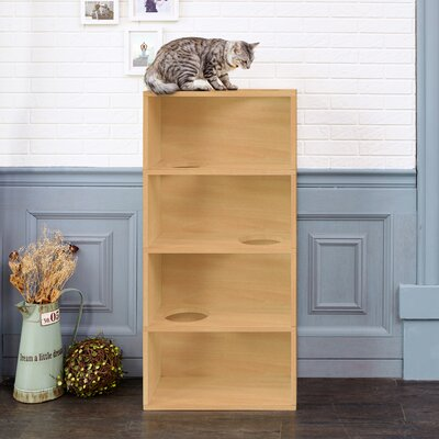 49 4-Shelf Cat Tree Color: Natural