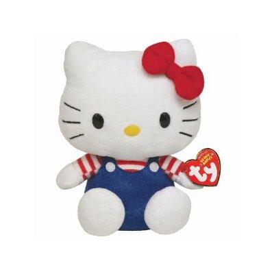 Ty Sanrio 6 Hello Kitty Plush Doll Toy