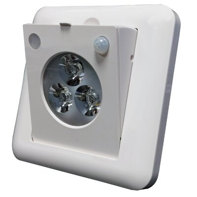 LED Motion Sensor 3-Light Emergency Light