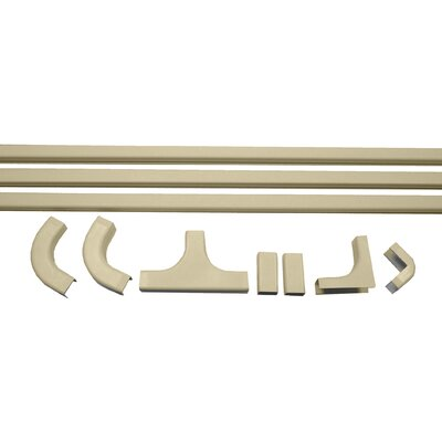 1 Latching Duct Cable Management Kit in Ivory (Set of 10)
