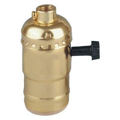 3-Way Turn Knob Lamp Holder