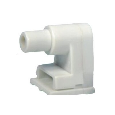 Plunger Single Pin Fluorescent Lamp Holder