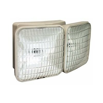 Dual Square Head Remote Emergency Light