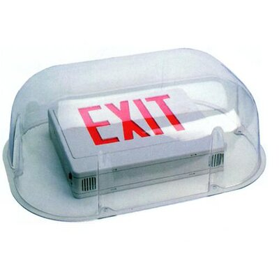 Vandal / Environmental Shield Guard for Combo Exit / Emergency Light
