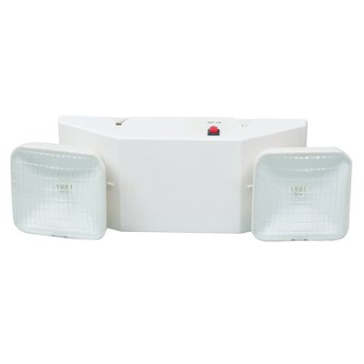 Emergency Lighting Unit in White