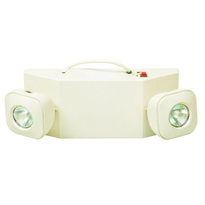 MR-16 Emergency Lighting Unit in White