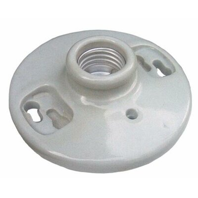 Porcelain Receptacles Keyless 6 Lead