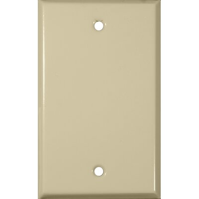 Gang and Blank Metal Wall Plates in Ivory (Set of 6)