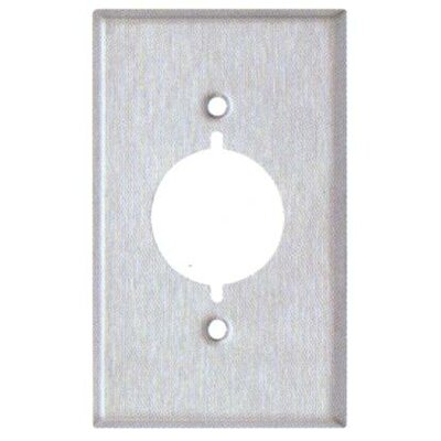 Gang Range and Dryer Metal Wall Plates in Stainless (Set of 6)