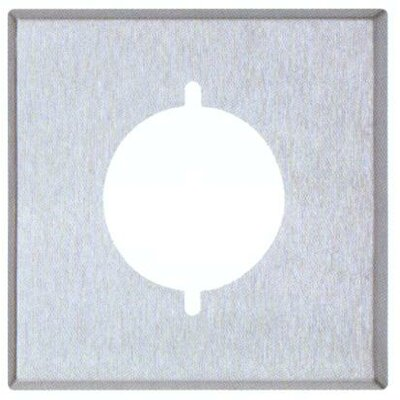 Two Gang Range and Dryer Metal Wall Plates in Stainless (Set of 4)