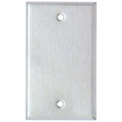 Image of Oversize Blank 1 Gang Stainless Steel Metal Wall Plates