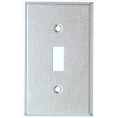 Oversize Toggle Switch 1 Gang Stainless Steel Metal Wall Plates