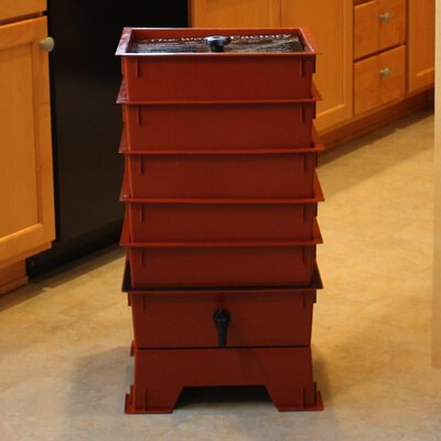 Nature's Footprint Worm Factory 5 Tray Composter - Color: Terracotta at Sears.com