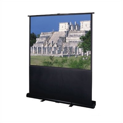 Deluxe Insta-Theater Matte White Portable Projection Screen Viewing Area: 48 H x 64 W